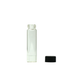 5 ml Glass Vials with Black Cap - 100 units - weed packaging and beyond