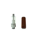 .5 ml Wood Tip Glass Cartridge - 100 units - weed packaging and beyond