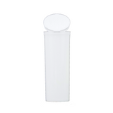 60 Dram Pop Top Bottles Child Resistant White - 75 units - weed packaging and beyond