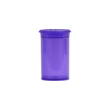 6 Dram Pop Top Bottles Child Resistant Translucent Purple - 720 units - weed packaging and beyond
