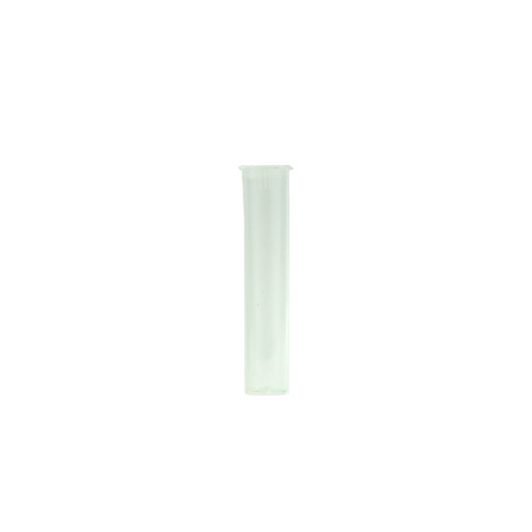 80 mm Cartridge Tubes Child Resistant Clear - 500 units - weed packaging and beyond