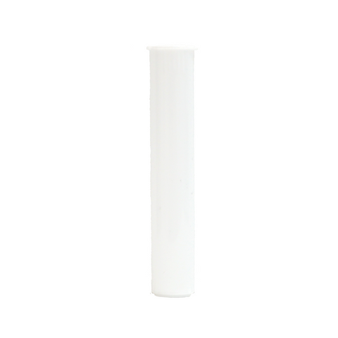 80 mm Cartridge Tubes Child Resistant White - 1000 units - weed packaging and beyond