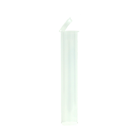 90 mm Pre-Roll Tubes Child Resistant Clear - 600 units