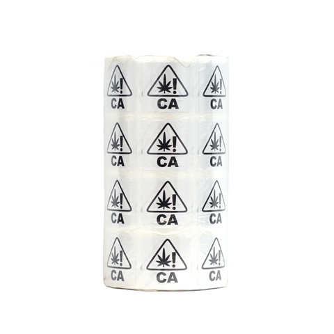 "California Compliant Universal Symbol Labels 1"" x 1"" Round - 1,000 units"