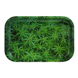 Cannabis Leaf Rolling Tray - 1 unit - weed packaging and beyond