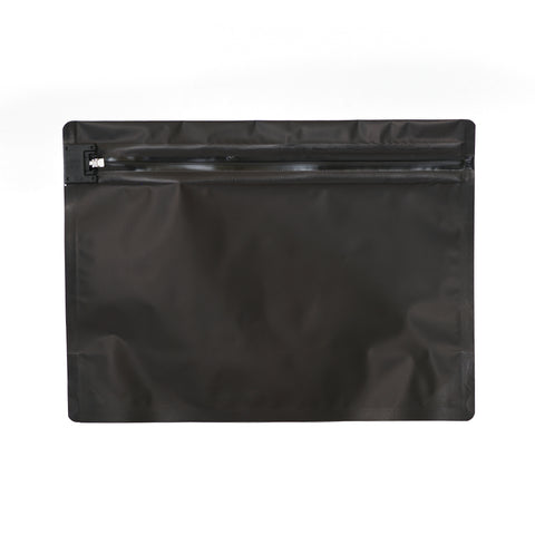 Child Resistant Exit Bags Medium Black - 100 units - weed packaging and beyond