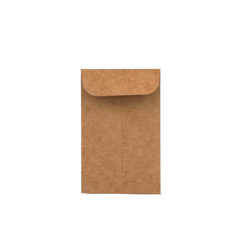 Coin Envelopes Kraft Paper - 100 Units - weed packaging and beyond