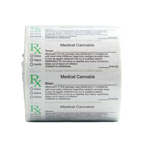 Generic Medical Marijuana Labels - 1,000 units