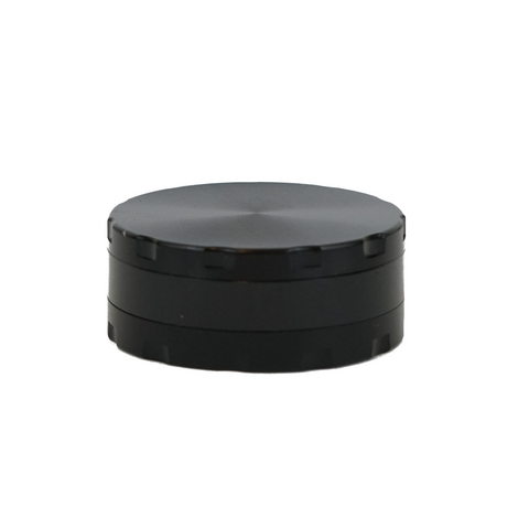 Metal Grinder Black 3 Parts with Scraper 63 mm - weed packaging and beyond