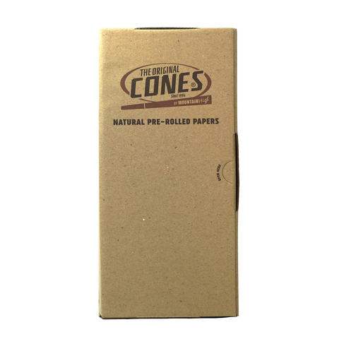 Natural Pre-Rolled Cones King Size 109 mm - 1000 units - weed packaging and beyond