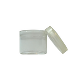 6 ml No Neck Glass Concentrate Containers Clear Cap - 144 units - weed packaging and beyond