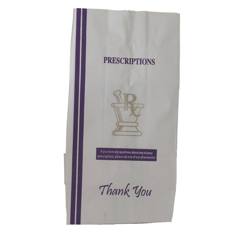 Pharmacy Prescription Bags X-Large - 1,000 units - weed packaging and beyond