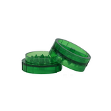 Plastic Grinder Green 2 Parts 45 mm - weed packaging and beyond