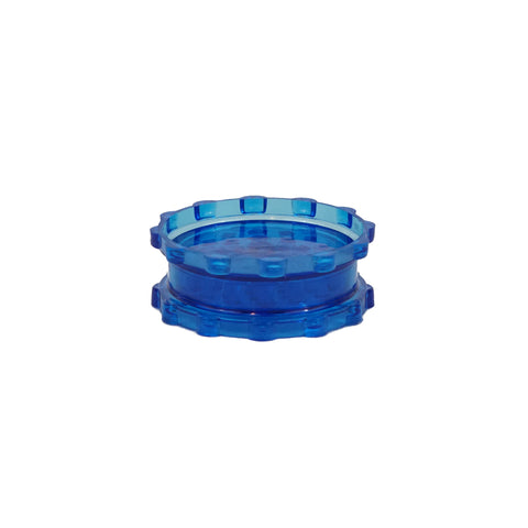 "Plastic Magnetic Grinder Blue 2 Parts 3"" - weed packaging and beyond"