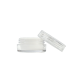 5 ml Polystyrene with Silicone Insert Containers White - 100 units - weed packaging and beyond