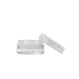 Polystyrene Concentrate Containers 10 ml Clear - 100 units - weed packaging and beyond