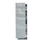 Syringe Mylar Barrier Bags White/Clear - 100 units - weed packaging and beyond