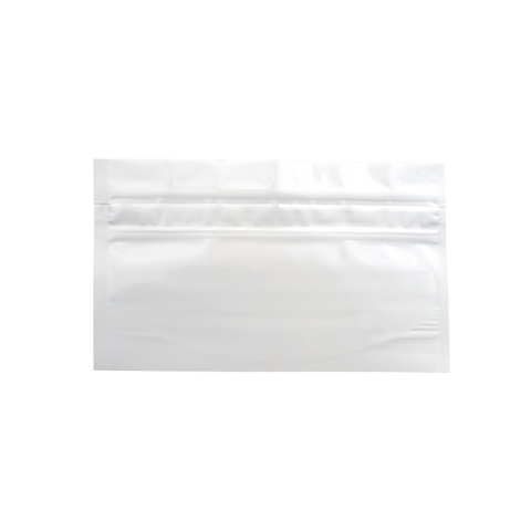 WPAB Barrier Bags Child Resistant Small White - 100 units - weed packaging and beyond