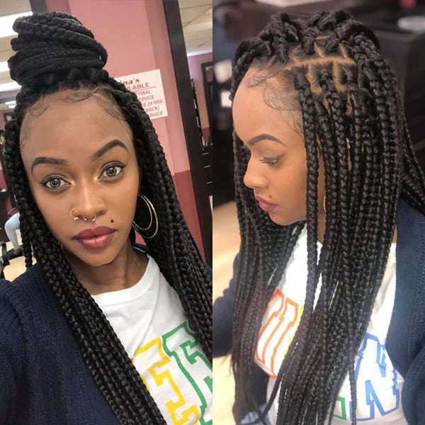 Tremendous Affordable Full Lace Wig For Making Box Braid Wig Get 2 Bundles Schematic Wiring Diagrams Amerangerunnerswayorg