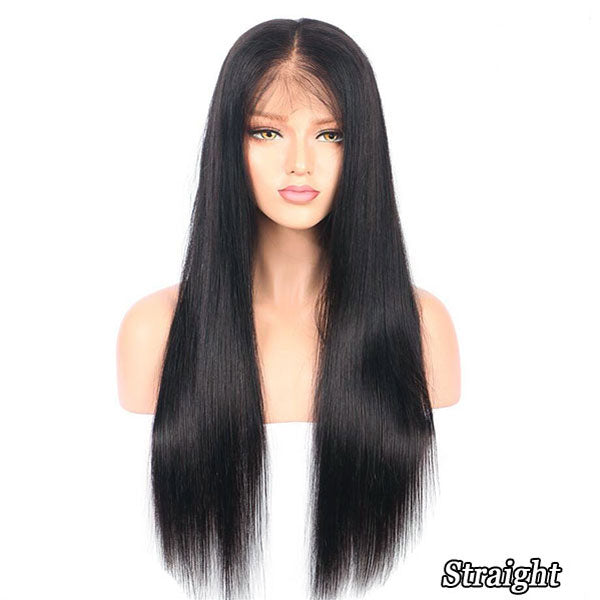 329cab796 Pre Bleached Knots Best Virgin Human Hair Full Lace Wig | Luvme Hair