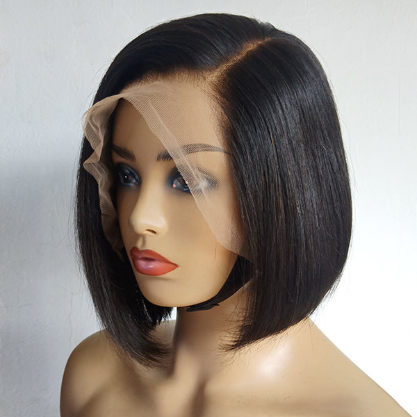 Perfect Effortless Bob Wig Side Part 13x6 Frontal Lace Wig Luvme Hair