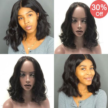 Affordable Wavy Bob Wig