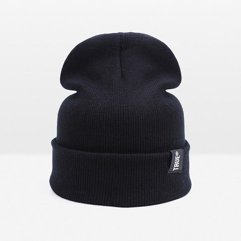 Skull Winter Cotton Elasticity Knit Beanie