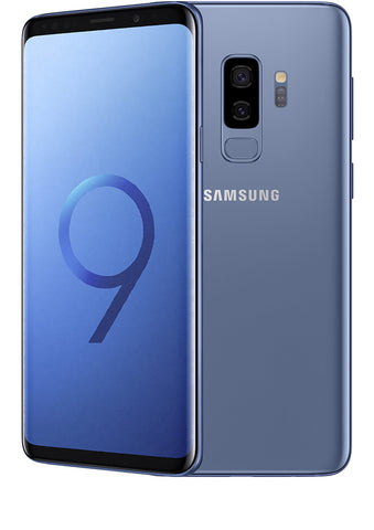 Samsung Galaxy S9 Plus (SM-965F) Bleu Coraille - 64 GB - Écran 6.1'' - Occasion reconditionné - Grade Diamond