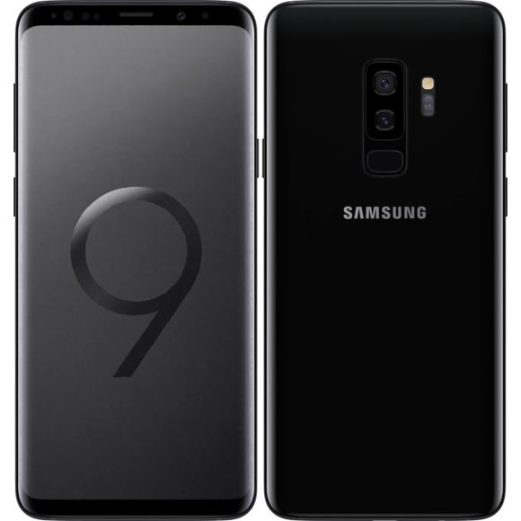Samsung Galaxy S9 Plus (SM-965F) Noir - 64 GB - Écran 6.1'' - Occasion reconditionné - Grade Diamond