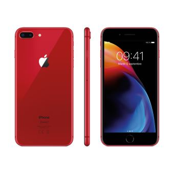 Apple iPhone 8 Plus - Rouge - 64 GB - Écran 5.5'' - Occasion reconditionné - Grade Diamond