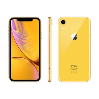Apple iPhone XR - Jaune - 64 GB - Écran 6.1'' - Occasion reconditionné - Grade Diamond