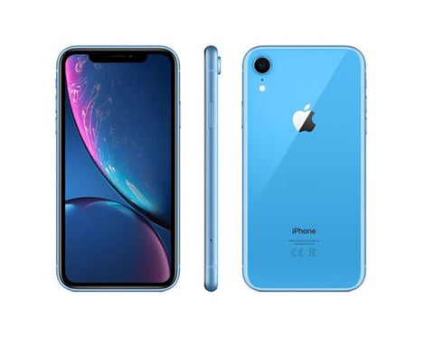 Apple iPhone XR - Bleu - 128 GB - Écran 6.1'' - Occasion reconditionné - Grade Ruby