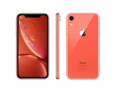 Apple iPhone XR - Corail - 64 GB - Écran 6.1'' - Occasion reconditionné - Grade Sapphire