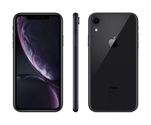Apple iPhone XR - Noir - 128 GB - Écran 6.1'' - Occasion reconditionné - Grade Ruby