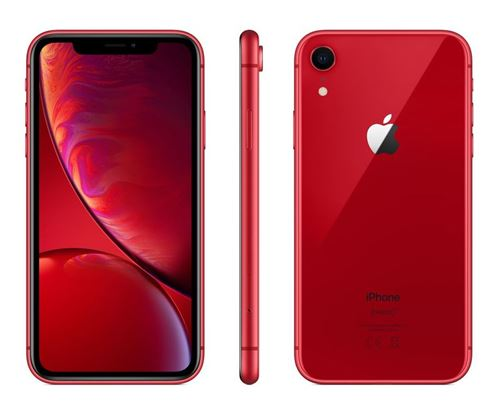 Apple iPhone XR - Rouge - 64 GB - Écran 6.1'' - Occasion reconditionné - Grade Ruby
