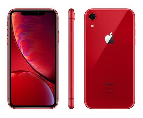 Apple iPhone XR - Rouge - 128 GB - Écran 6.1'' - Occasion reconditionné - Grade Diamond