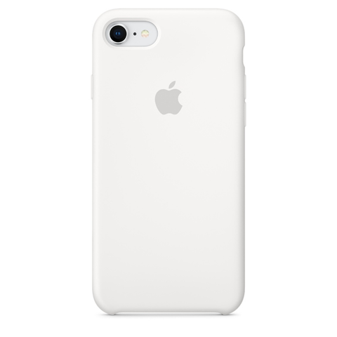 Apple Coque Silicone iPhone 7 / iPhone 8 - Blanc- Neuf d'origine