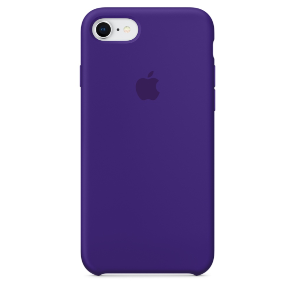 Apple Coque Silicone iPhone 7 / iPhone 8 - Ultraviolet- Neuf d'origine