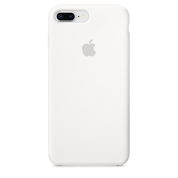Apple Coque Silicone iPhone 7 Plus / iPhone 8 Plus - Blanc- Neuf d'origine
