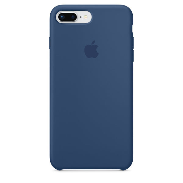 Apple Coque Silicone iPhone 7 Plus / iPhone 8 Plus - Bleu Cobalt- Neuf d'origine