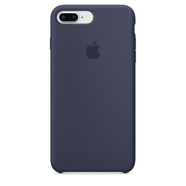 Apple Coque Silicone iPhone 7 Plus / iPhone 8 Plus - Bleu nuit- Neuf d'origine