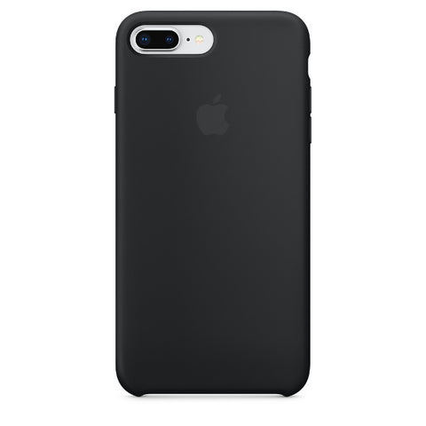 Apple Coque Silicone iPhone 7 Plus / iPhone 8 Plus - Noir- Neuf d'origine