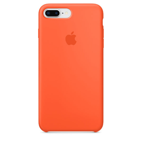Apple Coque Silicone iPhone 7 Plus / iPhone 8 Plus - Orange curcuma- Neuf d'origine