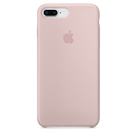 Apple Coque Silicone iPhone 7 Plus / iPhone 8 Plus - Rose des sables- Neuf d'origine
