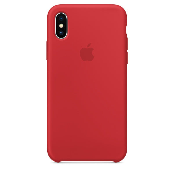 Apple Coque Silicone iPhone X - Rouge- Neuf d'origine