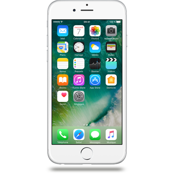 Apple iPhone 6 - Argent - 64 GB - Écran 4.7'' - Occasion reconditionné - Grade Ruby