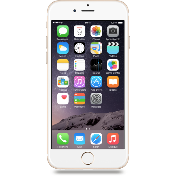 Apple iPhone 6 - Or - 16 GB - Écran 4.7'' - Occasion reconditionné - Grade Ruby