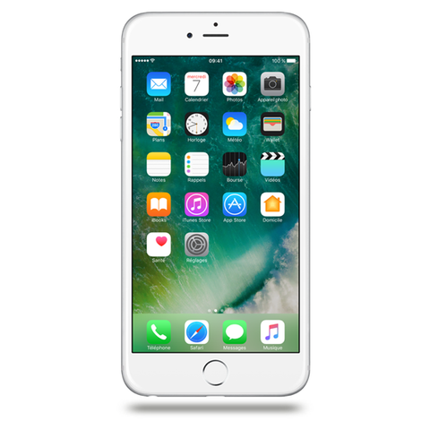 Apple iPhone 6 Plus - Argent - 64 GB - Écran 5.5'' - Occasion reconditionné - Grade Sapphire