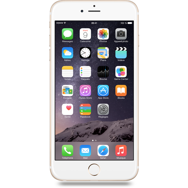 Apple iPhone 6 Plus - Or - 64 GB - Écran 5.5'' - Occasion reconditionné - Grade Sapphire
