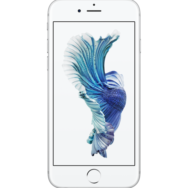 Apple iPhone 6s - Argent - 128 GB - Écran 4.7'' - Occasion reconditionné - Grade Ruby